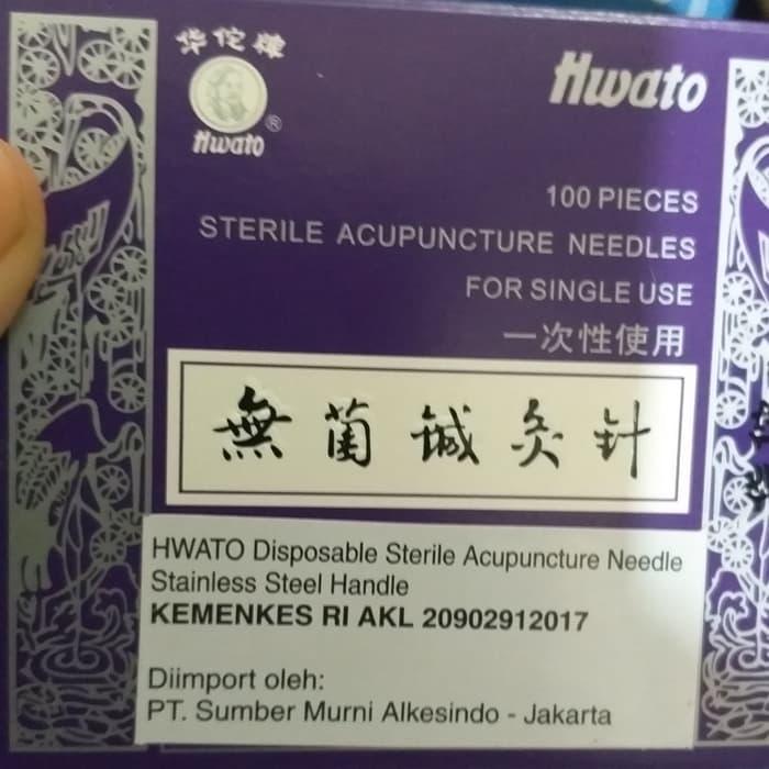 Jarum Akupunktur Hwato 1 cun